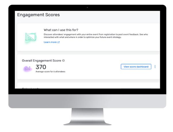 Nutze Features wie den Engagement Score von Cvent