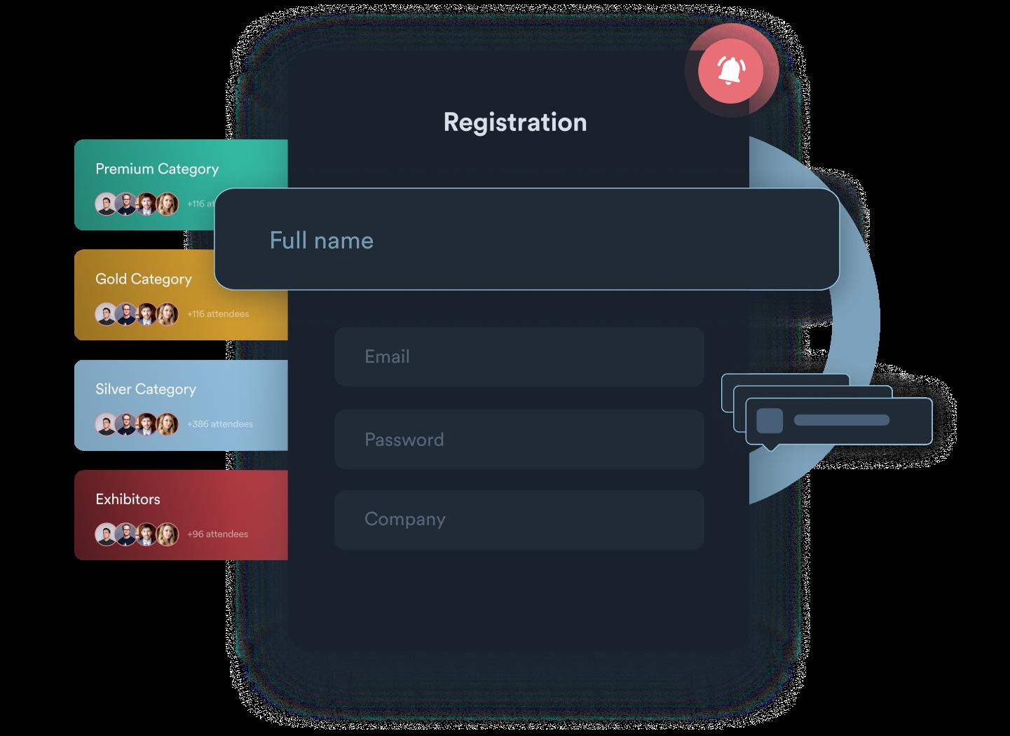 Event-Registrierung mit Hubilo