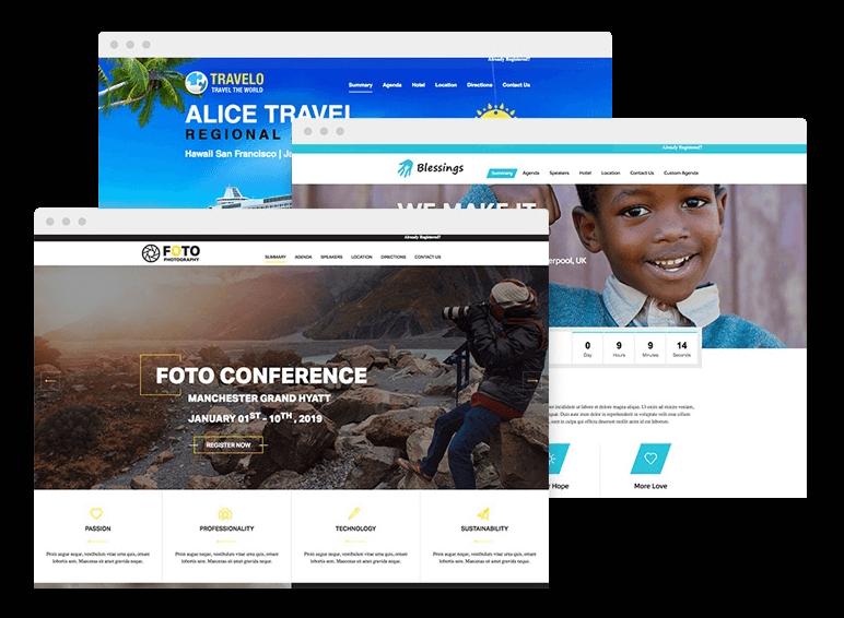 Begeisternde Event-Websites selbst erstellen