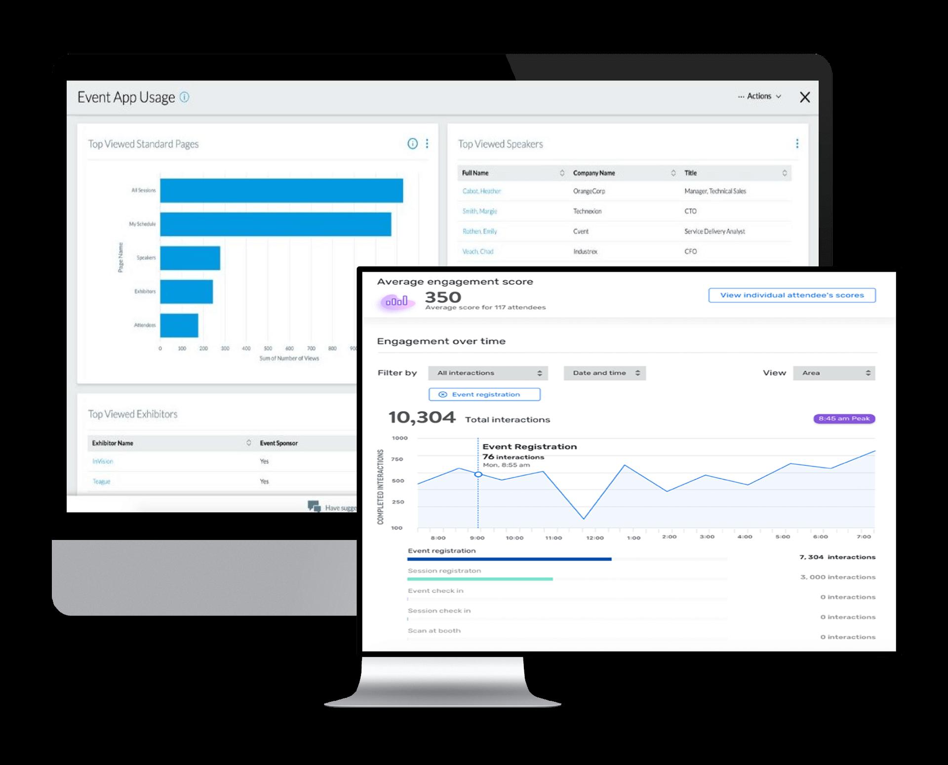 Event-App von Cvent | Analytics und Engagement Score | Event-Tech-Partner