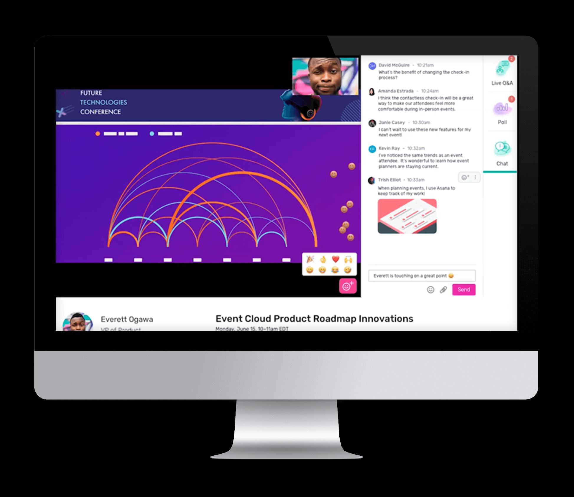 Event-App von Cvent | dynamische Inhalte | Event-Tech-Partner