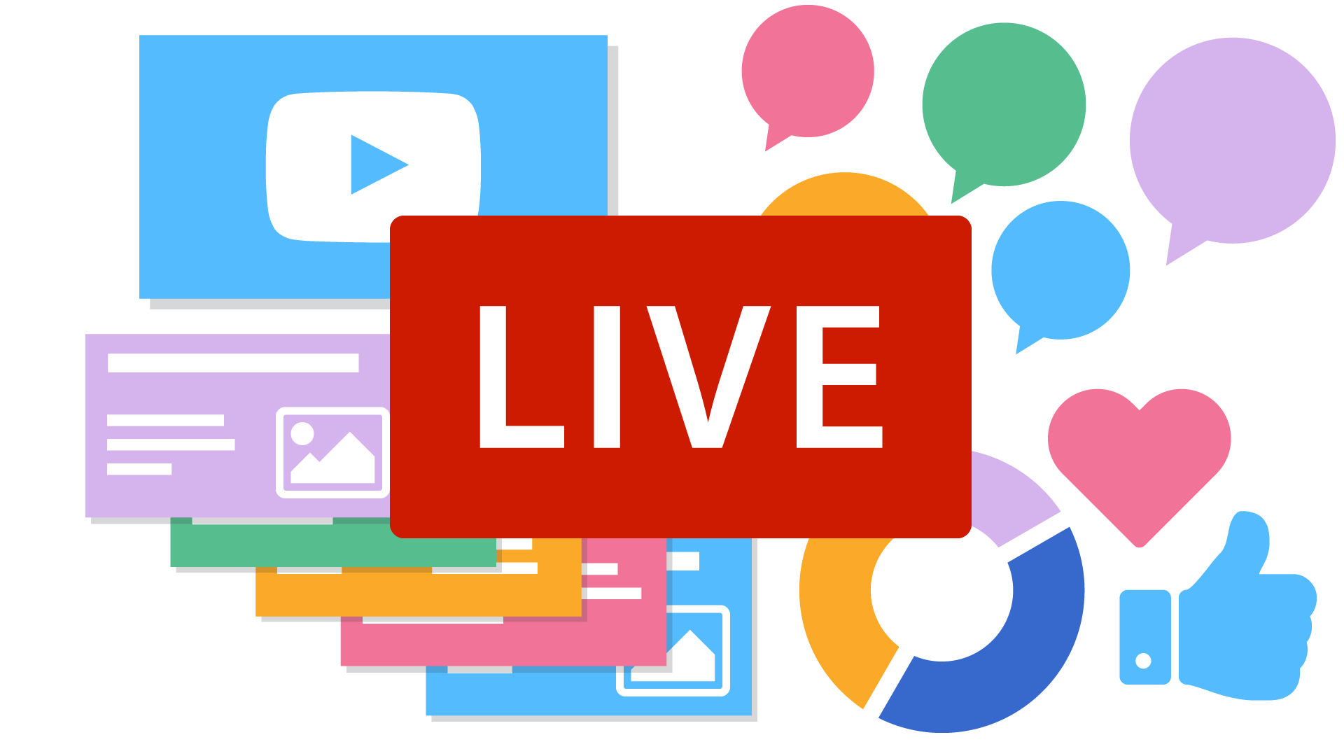 LiveStreaming inklusive interaktiver Elemente
