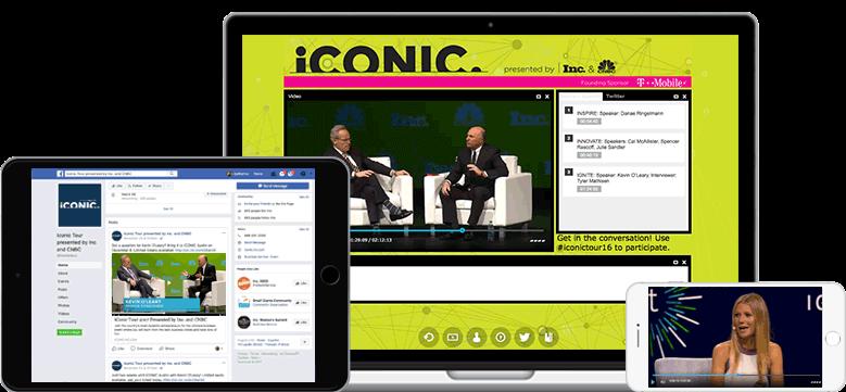 Livestreaming & WebCast | mit Lösungen von Event-Tech-Partner